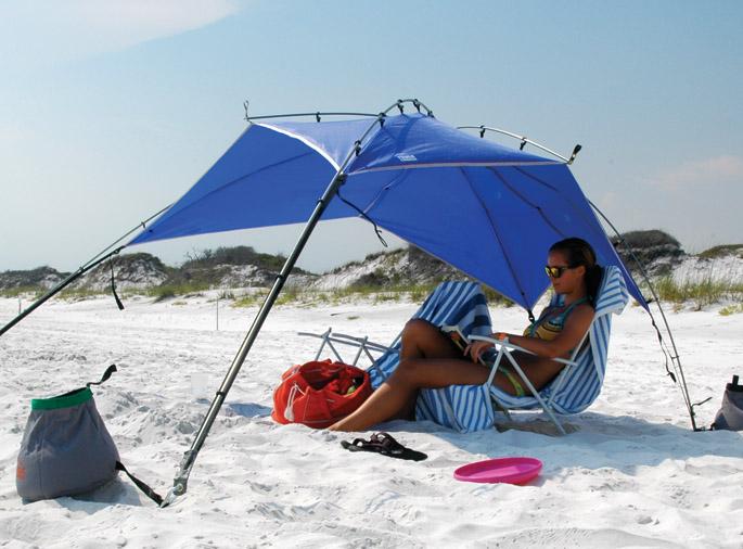 Nwt Lightsd Outdoors Quick Shelter Cabana Beach Sun Tent Blue & Beach Sun Tents - Best Tent 2018